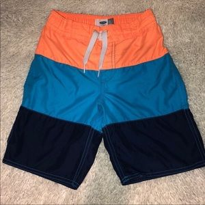 🔴 5 For $25 Old Navy Swim Shorts Boys Small 6-7